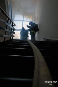 straz pozarna pozar schody waz 202x300 - Strażak – zawód czy pasja?